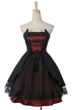 So elegant. perfect for a vampire prom