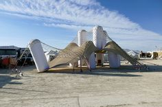 pneuhaus playascape burning man designboom