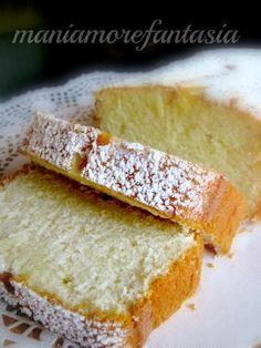 Plumcake al limone ricetta con soli albumi