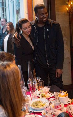 Fun in France from Keeping Up With Kimye | E! OnlineKim and Kanye dine out at the Ferdi restaurant in Paris, France on June 17. www.winwithmtee.com