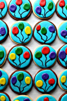 Balloon Sugar Cookie