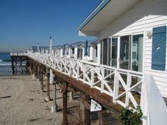 Sleep over the surf at the historic Crystal Pier Hotel in Pacific Beach.