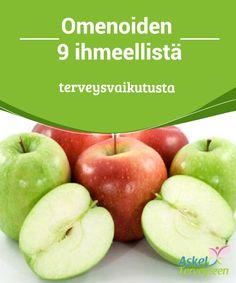 Omenoiden 9 ihmeellistä terveysvaikutusta   Omena on hedelmä, jota on helposti #saatavilla vuoden ympäri. Omenat ovat herkullisia ja #monipuolisia hedelmiä, jotka sopivat #pääruokiin ja jälkiruokiin.  #Terveellisetelämäntavat