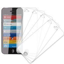 MPERO New Apple iPhone 5 / 5G 5 Pack of Screen Protectors