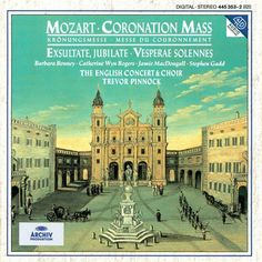 Trevor Pinnock - Mozart: Coronation Mass; Exsultate, Jubilate; Vesperae Solennes (CD)