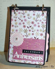 Amb Papers i Fils: Calendario Cumpleaños!