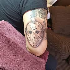 Afbeeldingsresultaat voor tattoo hockey mask