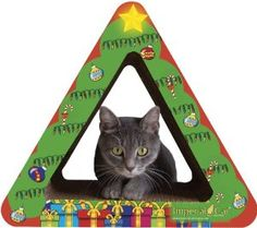 Imperial Cat Christmas Tree Scratch and Shape, Small #cats