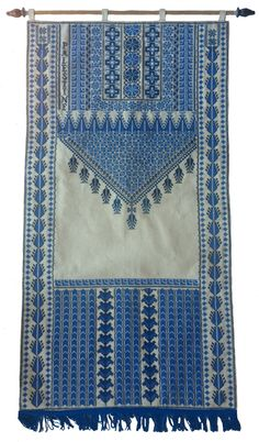 Hand Embroidered Wall Hanging from Ramallah West Bank Palestine