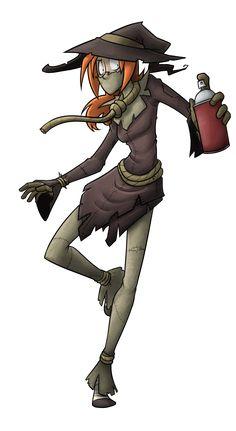 Evil league collab Scarecrow by ArturoEz on DeviantArt
