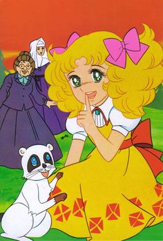Candy Candy by Yumiko Igarashi Cartoon Tv Shows, Cartoon Characters, Manga Anime, Candy Lady, Candy Y Terry, Dulce Candy, Anime Japan, Classic Cartoons, My Childhood Memories