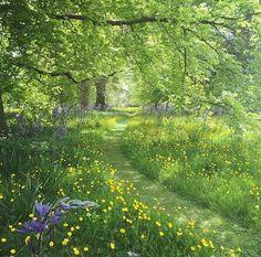 Garden at Milton Hall. Photo by Sarah Ann Johnson Garden at Milton Hall. Photo by Sarah Ann Johnson