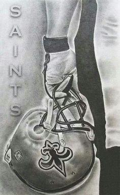 New Orleans Saints Nfl Saints, New Orleans Saints Football, All Saints Day, Saints Memes, Best Football Team, Football Art, Football Season, Football Stuff, Football Memes