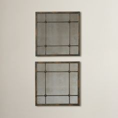Found it at Wayfair - Square Wall Mirror