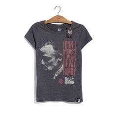 Camiseta Poderoso Chefão Família Feminina