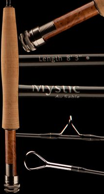 Au Sable fly rod by Mystic - Trout Eastern US Fly Fishing Rods, Fly Rods, Fly Shop, Mystic, Trout, Sick, Addiction, Photos, Products