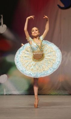 Miko Fogarty. Look at the detailing on the tutu. So exquisite!