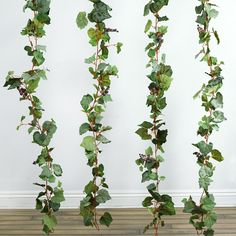 6FT Artificial UV Protected Frosted Grape & Leaf Chain Garland Wedding Arch Gazebo Decor | Frosted grape garland made to replicate real life grape vines is a perfect way to add color and detail to poles, banisters, or plain table decorations. Our frost leave grape garland adds a stunning twist to any decoration, showing off brightly colored perfect leaves in green, gold and orange and suggests that fall is again upon us. This versatile strand 6' of garland adds an attractive addition to the…