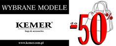 Promocja w sklepie Kemer trwa! Nawet do -50% zniżki na wybrane modele torebek!
