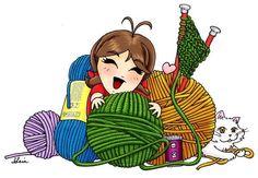 love to crochet quotes Knit Art, Crochet Art, Crochet Home, Learn To Crochet, Easy Crochet, Crochet Patterns, Crochet Quotes, Knitting Quotes, Knitting Humor