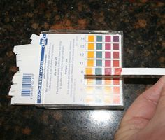 Testing Soap with pH Strips4