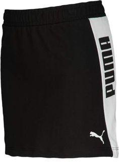 Puma PUMA Squad Skirt - Girls Grade School - Black/White Athletic Skirts, Church Camp, Nike Shorts, Cheer Skirts, Squad, Workout, Black And White, School, Fitness