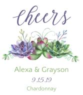 Create your own wine labels online. Make your own wine labels with your text, photos & logos. Personalized Wine Bottles, Personalized Labels, Custom Wine Labels, Wine Bottle Labels, Wedding Wine Labels, Make Your Own Wine, Watercolor Succulents, Photo Logo, Place Card Holders