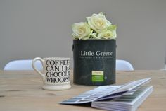 Decorating the Orangery Part One Little Greene Paint, Coffee Cans, Beautiful Homes, Living Spaces, Posts, Canning, Mugs, Tableware, Happy