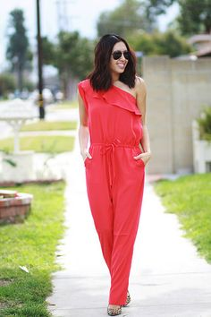 #vdayoutfit with @tamarcollection #jumpsuit #ootd