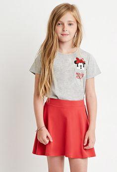 Classic Skater Skirt (Kids)   Forever 21 girls - 2000172623