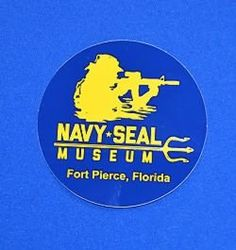 Navy SEAL Museum sticker