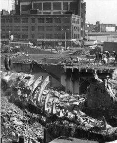 Demolition of Scollay Square 1960 - 1963
