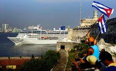 Navio cruzeiro em Cuba