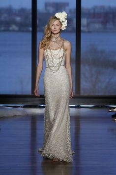 Ines DiSanto Bridal 2015   Ines Di Santo Wedding Dresses 2015 Bridal Collection - MODwedding