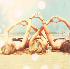 BFF's aren't just friends they are sisters and they can't help but have fun at the beach.