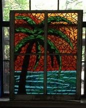 Image result for Sunset Stained Glass Patterns