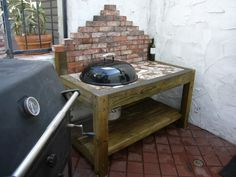 Weber Grill Table Design - The BBQ BRETHREN FORUMS.