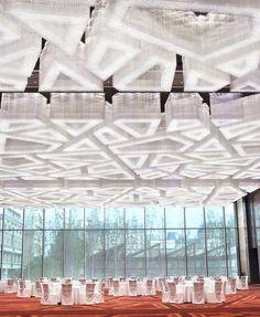 Where To Buy Plastic Carpet Runners Ballroom Design, Multipurpose Hall, Plastic Carpet Runner, Public Hotel, Hotel Carpet, Mountain Modern, Light Project, Ceiling Design, Ceiling Lamp