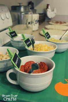 Pizza Party Ideas #gametimegoodies #shop #cbias