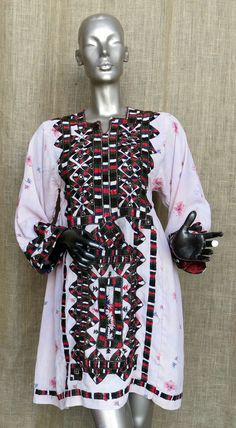 Vintage, circa 1960's, Baluch dress from the Nimroz province of Afghanistan.  [$195.00]
