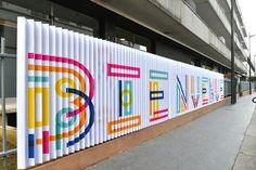 Signage JPO EME 2013 by Sébastien M, via Behance
