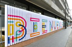 Signage JPO EME 2013 by Sébastien M, via Behance