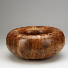 HAP SAKWA; Turned wood bowl, c.1987 - [who says it has to be thin? I'd like more views of this one.]