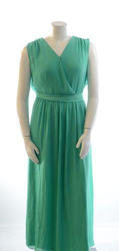 Jessica London Womens 18 Surplice Dress Pretty Jade | eBay