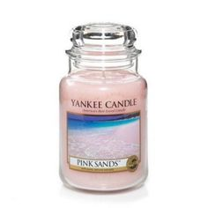 Yankee Candle Pink Sands, 22 oz Large Jar