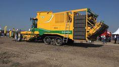 Rooimachines in actie op Aardappeldemodag in Westmaas Trekkerweb