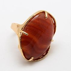 PandaHall Jewelry—Natural Agate Rings with Brass Findings | PandaHall Beads Jewelry Blog