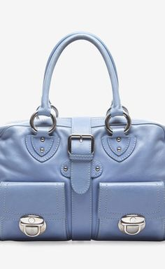 Marc Jacobs Marc Jacobs Perwinkle Leather Venetia Bag