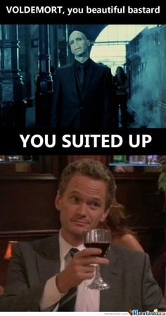 for those who love Harry Potter and watch How I Met Your Mother.