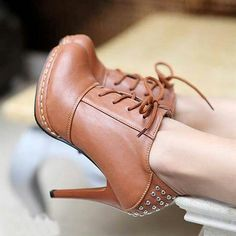 Love these. Would be to die for in a chestnut brown.